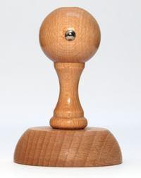 Wzór kołka drewnianego okrągłego