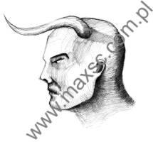 Ekslibriz zodiakalny byk