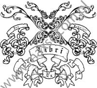 Ekslibris z motywem herbowym