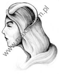 Ekslibris-zodiak-koziorożec-kobieta