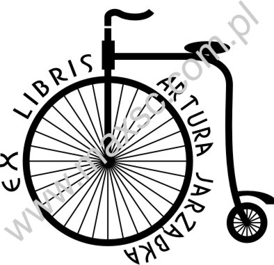 Ex libris rower