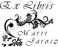 Ex libris rajski ptak 2