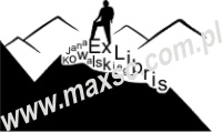 Exlibris wzór góry