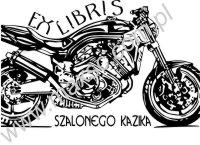 Ex libris motocykl