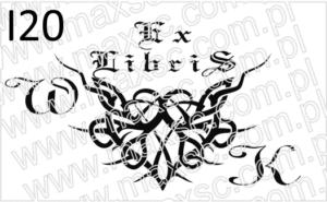 Ex libris motyw tribe