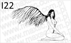 Exlibris z aniołem