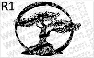 Grafika do ex librisz motywem drzewa w okręgu