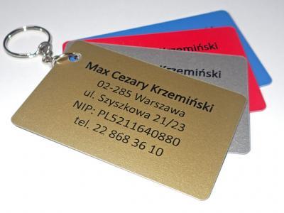 Dostępne kolory kart plastikowych