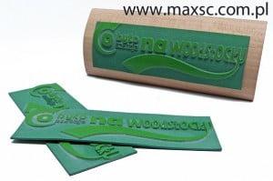 gumki do stempli - pieczatek drewnianych