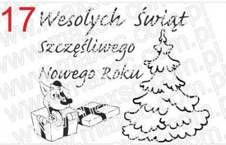 Grafika do pieczątki świątecznej nr 17