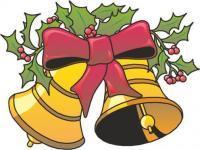Moty świąteczny z dzwonkami