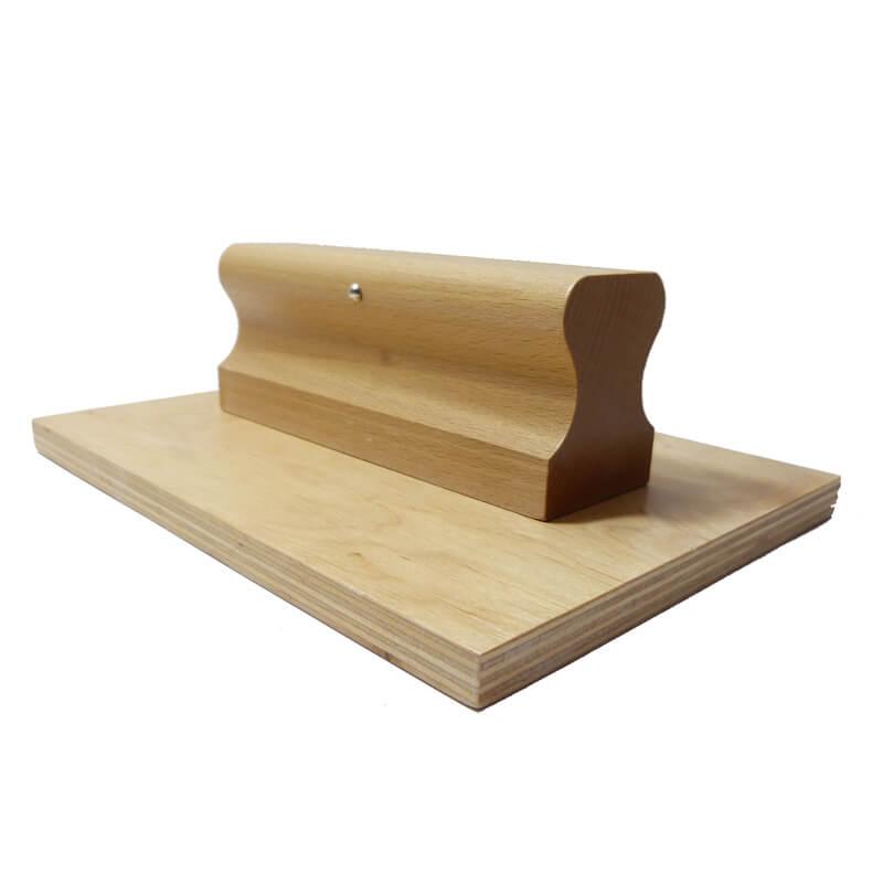 Stempel drewniany płaski