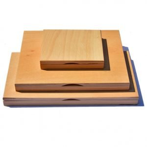 poduszki drewniane na tusz